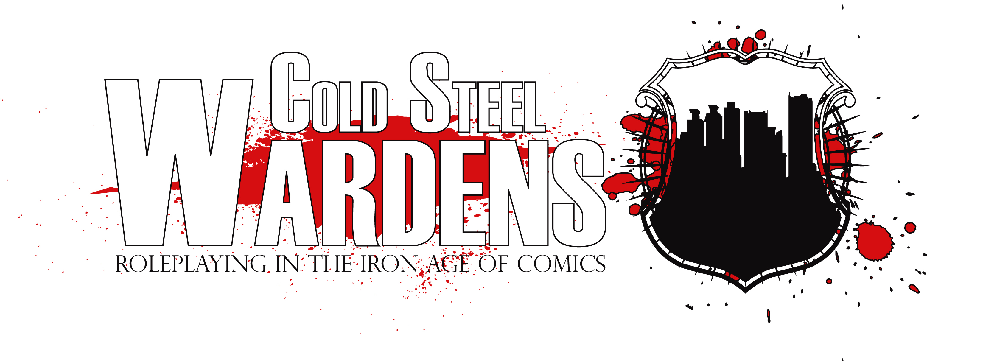 Cold Steel Wardens super hero RPG