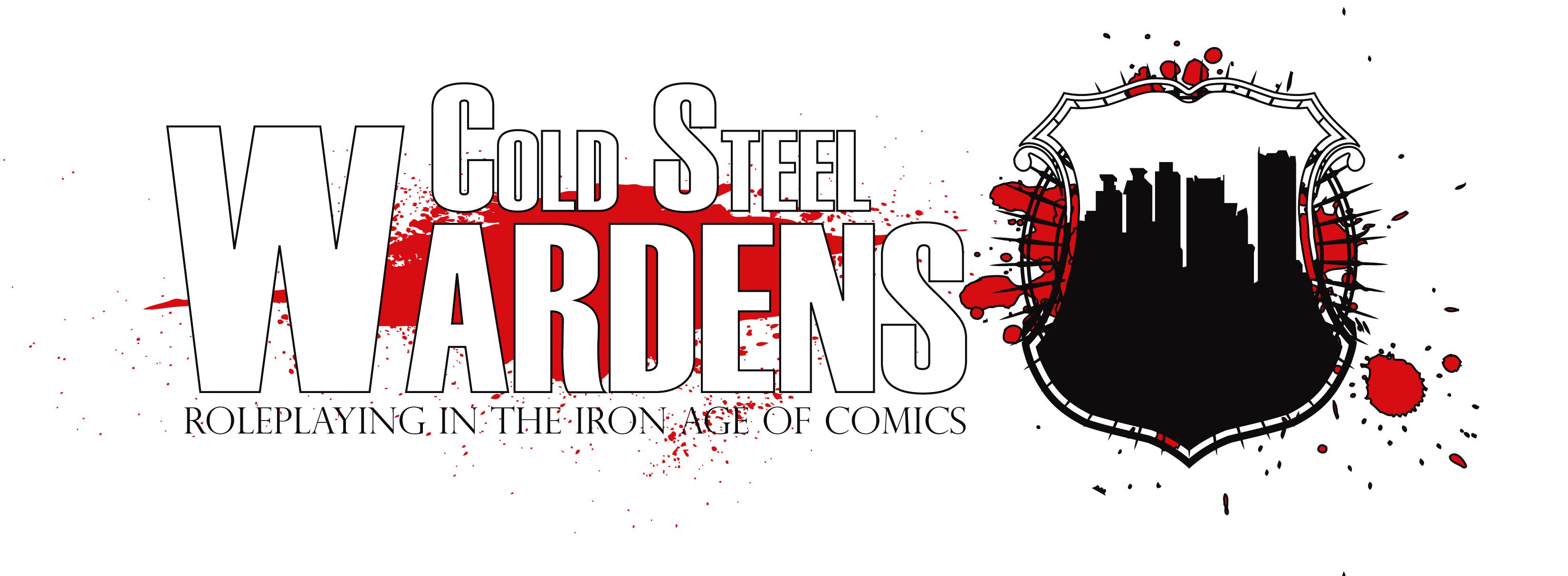 Cold Steel Wardens super hero RPG